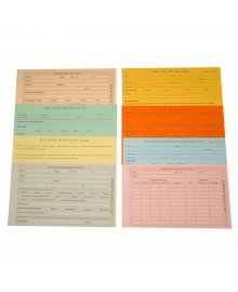 Nailcare Record Cards