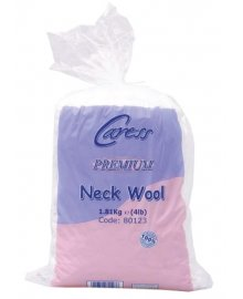 Neck Cotton Wool 0.5lb x 2
