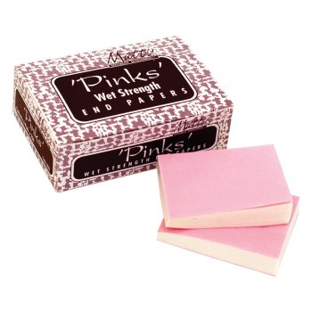 Misc 'Pinks' Wet Strength End Papers x 1500