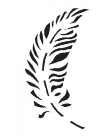 Feathers Stencil Set