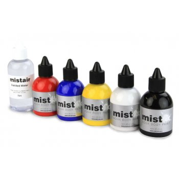 Mistair MistFX Aqua Body Paint Starter Pack
