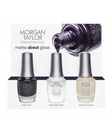 Matte About Gloss Trio Pack Nail Polish