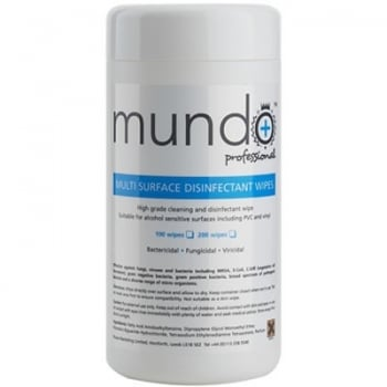Mundo Surface Disinfectant Wipes x 100