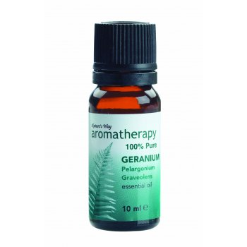 Natures Way Geranium Oil 10ml