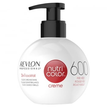 Nutri Color Creme 600 Fire Red 270ml