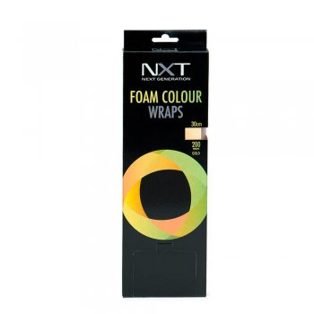 NXT Foam Gold Colour Wraps 30cm
