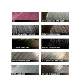 Nxt Metallic Hair Colour Shade Chart Dennis Williams From Uk