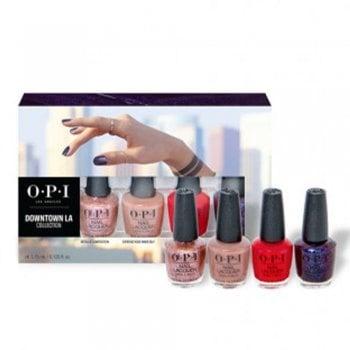 OPI Downtown LA Nail Lacquer 15ml - Mini 4 Pack