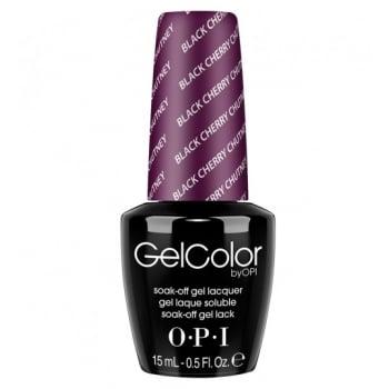 OPI Gel Colour Black Cherry Chutney 15ml
