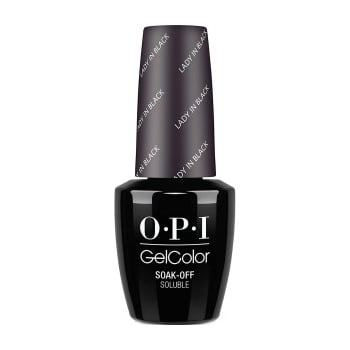 OPI Gel Colour Lady In Black 15ml