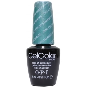 OPI Gel Colour This Colour's Making Waves 15ml