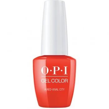 OPI Lisbon GelColor Gel Polish A Red-Vival City