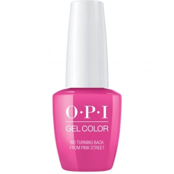 OPI Lisbon GelColor Gel Polish No Turning Back From Pink Street