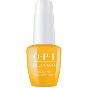 OPI Lisbon GelColor Gel Polish Sun Sea And Sand In My Pants