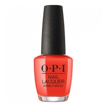 OPI Lisbon Nail Lacquer A Red-Vival City