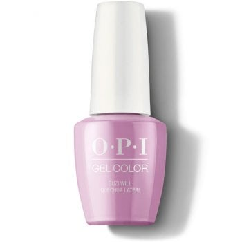 OPI Peru GelColor Suzi Will Quecha Later! 15ml