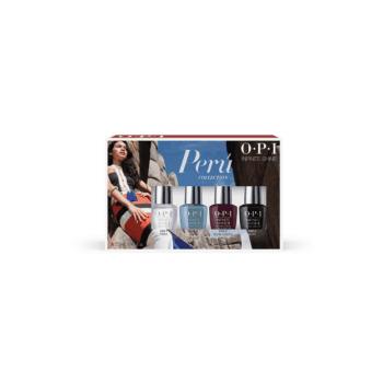 OPI Peru Infinite Shine Mini Gift Set 4 x 3.75ml