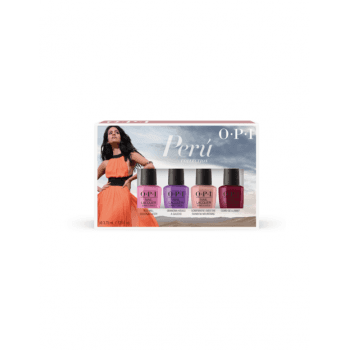 OPI Peru Nail Lacquer Mini Gift Set 4 x 3.75ml