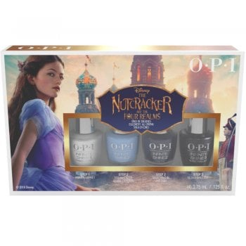 OPI The Nutcracker & The Four Realms Infinite Shine Gift Set 4 x