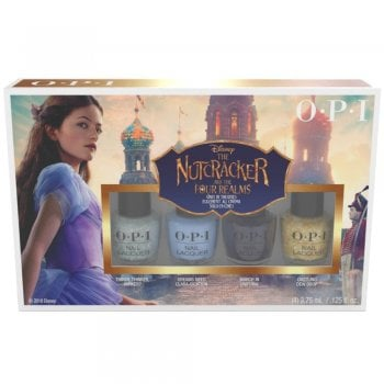 OPI The Nutcracker & The Four Realms Nail Lacquer Gift Set 4 x 3