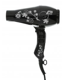 3200 Black Flowers Hair Dryer