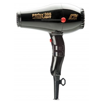 Parlux 385 Power Light Hair Dryer Black