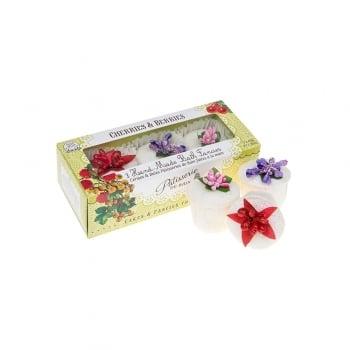Patisserie de Bain Bath Gift Cherries & Berries 3 Piece