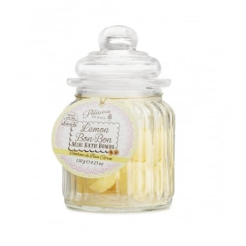 Patisserie de Bain Mini Bath Bomb Sweetie Jar Lemon Bon Bon