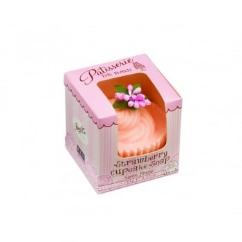 Patisserie de Bain Swirl Soap Cake Strawberry Cupcake