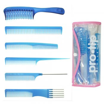 Pro Tip College Comb Kit Blue