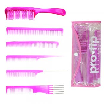 Pro Tip College Comb Kit Pink