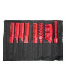 Tool Roll Comb and Brush Collection