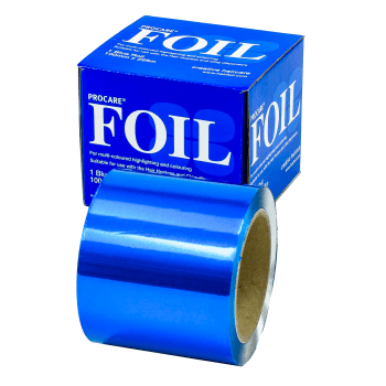 Procare Hair Foil Blue Roll 100mm x 225m