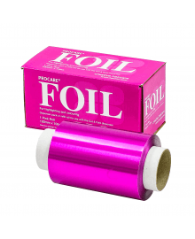Pink Hair Foil Roll 100mm x 100m