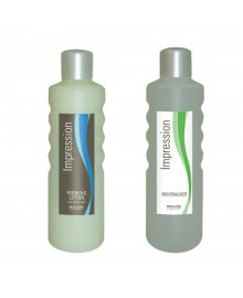 Impression Perming Lotion Tinted & Neutraliser Twin Pack