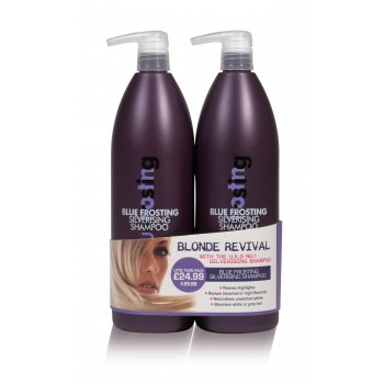 Proclere Blue Frosting Silver Shampoo Twin 1 Litre
