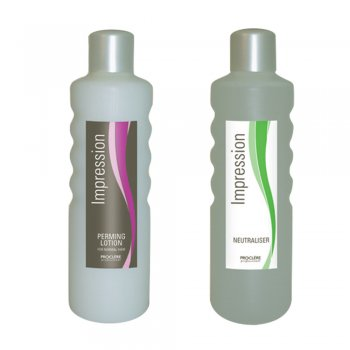 Proclere Impression Perming Lotion Normal & Neutraliser Twin Pack