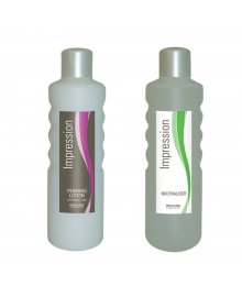 Impression Perming Lotion Normal & Neutraliser Twin Pack