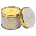 White Amber & Musk Tin Candle