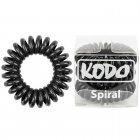 Spiral Pain-Free Hair Band Black x 3