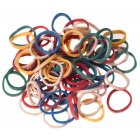 Elastic Bands Coloured 15mm x 500