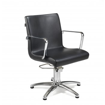 REM Ariel Hydraulic Styling Chair Black