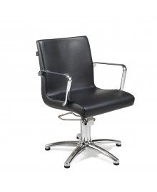 Ariel Hydraulic Styling Chair Black