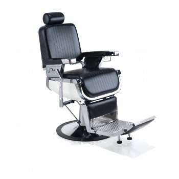 REM Emperor Barbers Chair Black