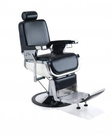 Emperor Barbers Chair Black