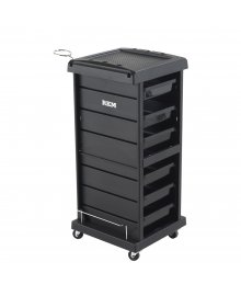 Jupiter Hairdressing Trolley Black