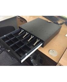 Lockable Salon Reception Desk Cash Drawer