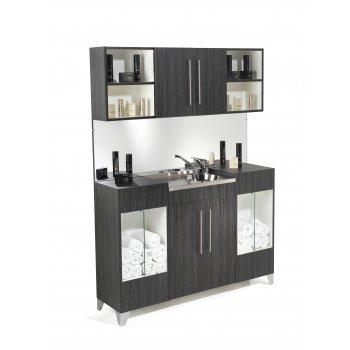 REM Opal Vanity Unit with Upper Storage