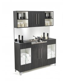 Opal Vanity Unit with Upper Storage