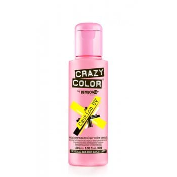 Renbow Crazy Color Semi-Permanent Hair Color Cream Caution UV